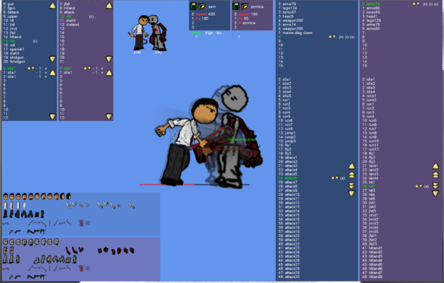 2D Character Editor